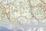Panorama Canada Map Canada West Adventure Map 3113 by National Geographic Maps