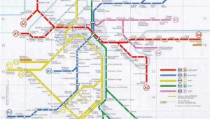 Paris France Train Stations Map Paris Rer Stations Map Bonjourlafrance Helpful Planning French