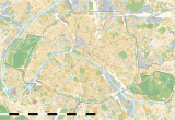 Paris On the Map Of France Maps Of Paris Wikimedia Commons