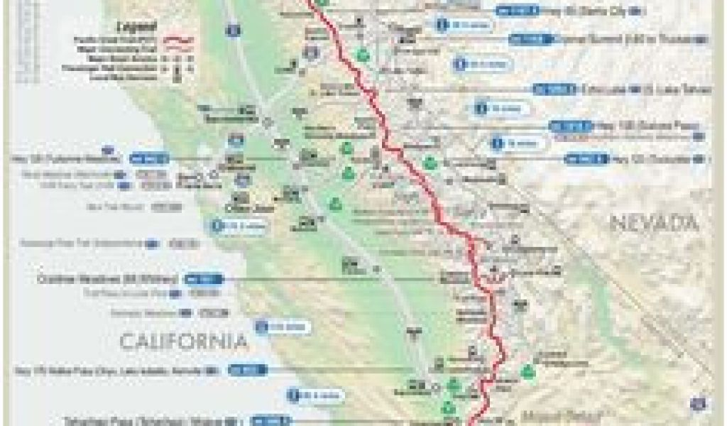 Pct Map oregon 8 Great Pacific Crest Trail Images Hiking ...