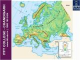 Physical Feature Map Of Europe Physical Features Map Of Europe Pergoladach Co