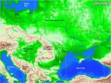 Physical Map Of Eastern Europe Physical Maps Of southwest asia Climatejourney org