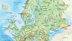 Physical Map Of Europe and Russia Map Of Europe and Russia Physical Download them and Print