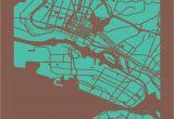 Piedmont California Map Oakland California Map Print Maps Pinterest California Map