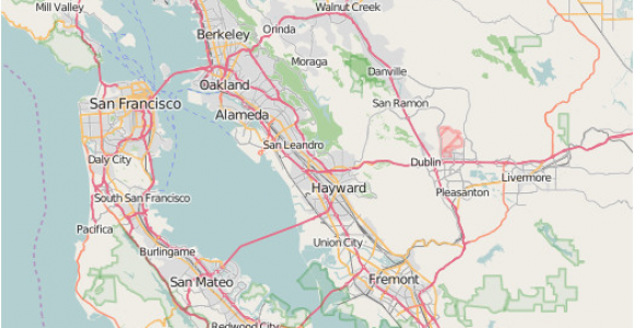 Piedmont California Map Redwood Regional Park Wikipedia