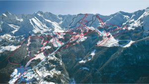 Pila Italy Piste Map Ski Map Pila