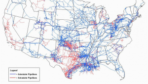Pipeline Map Texas Putting Electricity Generation On the Map State by State Energy