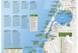Pismo Beach California Map California Coast Campgrounds Map New Map California Coast Beaches