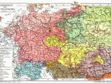 Poland In Europe Map An Old Map Of Mitteleuropa there are No so Many Germans In