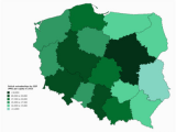 Poland On Map Of Europe List Of Polish Voivodeships by Grp Per Capita Wikipedia