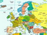 Political and Physical Map Of Europe Europe Map Map Of Europe Facts Geography History Of