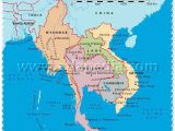 Political Map Of Michigan Political Map Of Myanmar Thailand Laos Cambodia Vietnam