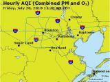 Pollution Map Europe Texas Air Quality Map Airnow Houston Galveston Brazoria Tx