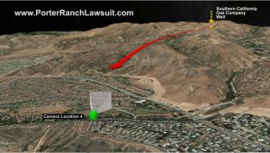Porter Ranch California Map New Porter Ranch Methane Gas Well Blowout Video Released
