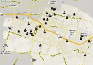 Portland oregon Crime Map Killeen Tx Burglary Map Spotcrime the Public S Crime Map