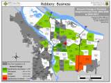 Portland oregon Crime Map Portland State Criminal Justice Policy Research Institute Portland