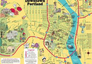 Portland oregon Light Rail Map Portland Bridges Map Map Of Portland Bridges oregon Usa