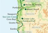Portland oregon On the Map Map oregon Pacific Coast oregon and the Pacific Coast From Seattle