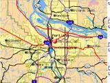 Portland oregon Suburbs Map Portland oregon or Profile Population Maps Real Estate