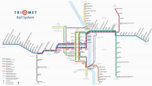 Portland oregon Train Map Wes Commuter Rail