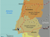 Portugal Map In Europe Portugal Wikitravel