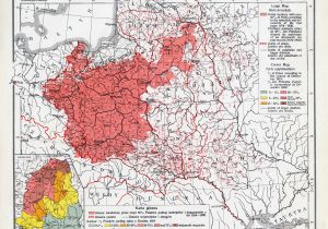 Post War Europe Map A 1921 Map Of Polish Majority areas In Europe after the End