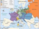 Post War Europe Map Betweenthewoodsandthewater Map Of Europe after the Congress