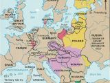 Post Wwi Map Of Europe 10 Explicit Map Europe 1918 after Ww1