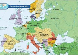 Post Wwi Map Of Europe Europe Pre World War I Bloodline Of Kings World War I