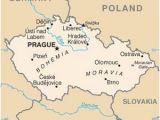Prague On Map Of Europe Pin On Czech