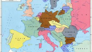 Pre World War 2 Map Of Europe Pre World War Ii Here are the Boundaries as A Result Of