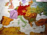 Pre Ww1 Map Of Europe European Ethnic Map 1914 Map Europe Maps European Map
