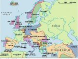 Pre Ww2 Map Of Europe Pre Wwii European Map 701978