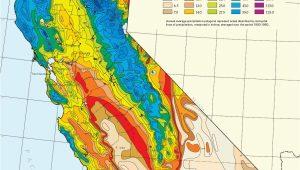 Precipitation Map California California State Map Pictures Best Of California Average Annual