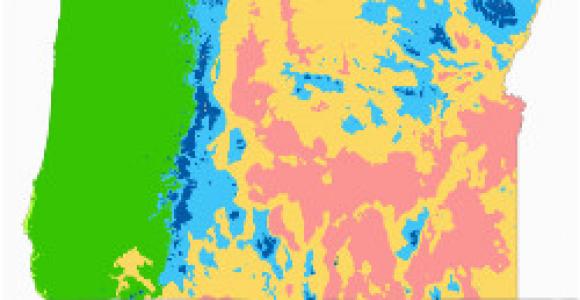 Precipitation Map oregon Climate Of oregon Revolvy