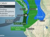 Precipitation Map oregon Early Week Storm May Be Strongest yet This Season In northwestern Us
