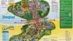 Printable Map Of Disneyland and California Adventure Printable Map Disneyland and California Adventure Fresh Map Of
