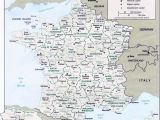 Printable Road Map Of France Map Of France Departments Regions Cities France Map