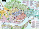 Printable tourist Map Of Venice Italy Free Printable Map Of Venice Italy Download them and Print