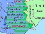 Provinces In France Map Italian Occupation Of France Wikipedia