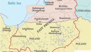 Prussia On Map Of Europe East Prussia Map Szukaj W Google Ancestry Trips Poland