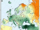 Racial Map Of Europe Genetic History Of Europe Wikipedia
