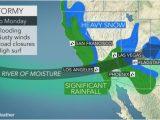 Rain Map California California to Face More Flooding Rain Burying Mountain Snow Into Monday