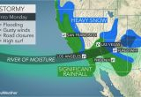 Rainfall Map Of Texas California to Face More Flooding Rain Burying Mountain Snow Into Monday