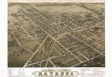 Ravenna Ohio Map Historical Map Of Ravenna Oh 1882