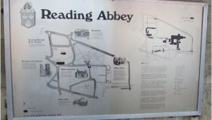 Reading England Map Reading Abbey Map Picture Of Terry S Reading Walkabouts