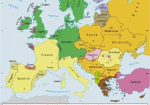Red Hair Map Of Europe Languages Of Europe Classification by Linguistic Family