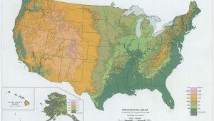 Relief Map Of California topographic Maps Of California Massivegroove Com