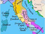 Renaissance Italy 1494 Map Map Of Italy Roman Holiday Italy Map European History southern