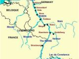Rhine River On Europe Map Rhine River the Rhine River is the Longest and Most